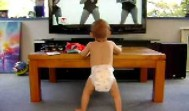 Baby Dancing to Beyonce