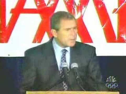 Funny Bush bloopers