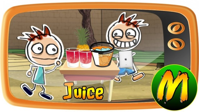 Mega Sticks : Juice (with English subtitles)