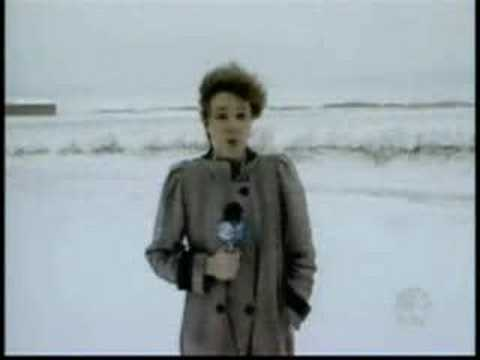 Sexy Reporter Thinks This Is Snow Joke