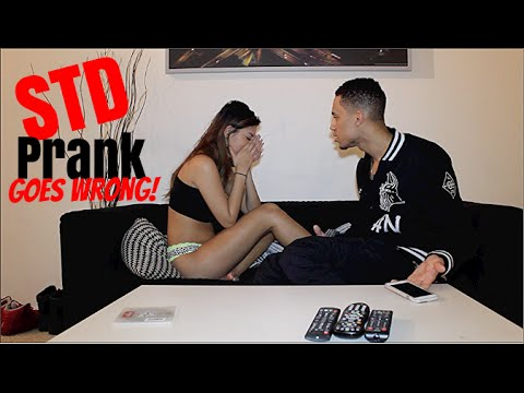 STD Prank Goes Wrong! Guy Prank His Girlfriend but Watch How it Turns Out.