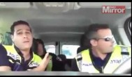 Watch Israeli police officers sing along to hit Lion King song in hilarious video