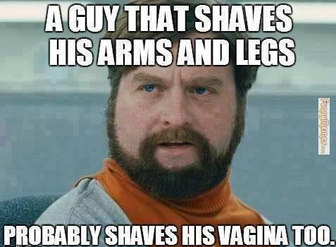 A Guy That Shaves