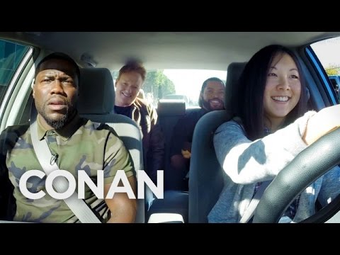 Ice Cube, Kevin Hart And Conan Help A Student Driver