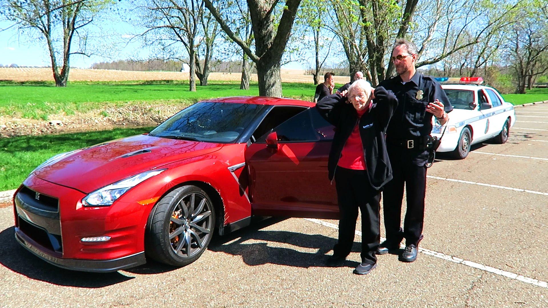 Grandma Gets Arrested PRANK
